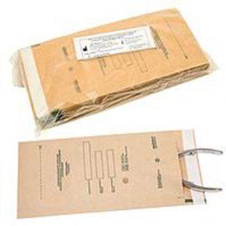 Крафт пакеты для паровой, воздушной, этиленоксидной стерилизации 100 шт