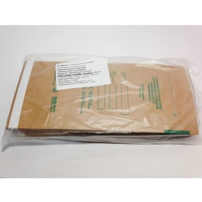 Крафт пакеты Медтест ПБСП-СТЕРИМАГ 100 * 200, 100 шт, серые