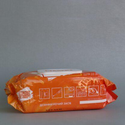Дезинфицирующее средство Етасепт в виде салфеток УЗД, в мягкой упаковке, 120 шт.